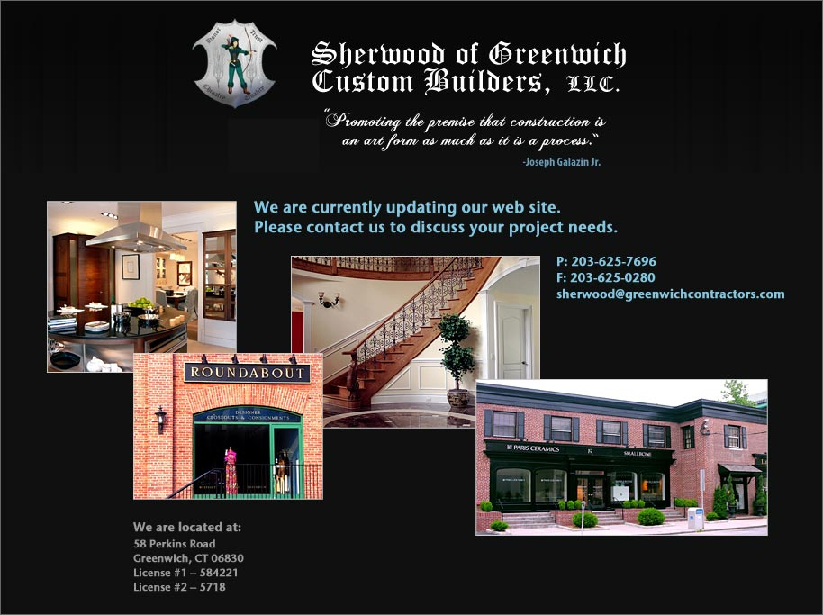 Sherwood of Connecticut Custom Builders